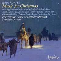 Polyphony : John Rutter - Music For Christmas : 00  1 CD : Stephen Layton : John Rutter : CDA67245