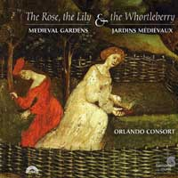 Orlando Consort : The Rose, The Lily & the Whortleberry : 00  1 CD :  : HMF 907938