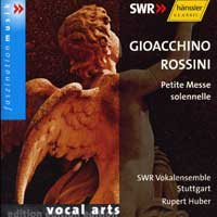 SWR Stuttgart Vocal Ensemble : Gioacchino Rossini : 00  1 CD : Rupert Huber : Gioachino Rossini : 93053