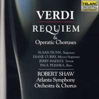 Robert Shaw Chorus : Verdi: Requiem : 00  2 CDs : Robert Shaw : Giuseppe Verdi : 80152