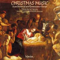 Sixteen : Christmas Music from Medieval & Renaissance : 00  1 CD : Harry Christophers :  : 66263
