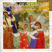 Moscow Male Voice Choir : Songs of Old Russia : 00  1 CD :  : OPU30164.2