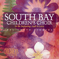 South Bay Children's Choir : In The Beginning : 00  1 CD : Diane Simons :
