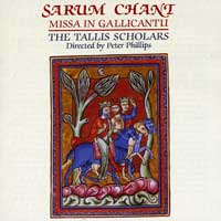 Tallis Scholars : Sarum Chant : 00  1 CD :  : GIM  017
