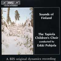 Tapiola Children's Choir : Sounds Of Finland : 00  1 CD :  : 94