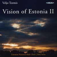 Estonian National Male Choir : Visions of Estonia 2 : 00  1 CD : Ants Soots : Veljo Tormis : ncd 20