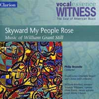 VocalEssence : Skyward My People Rose : 00  1 CD : Philip Brunelle : William Grant Still : 905