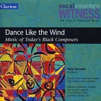 VocalEssence : Dance Like The Wind : 00  1 CD : Philip Brunelle :  : 906