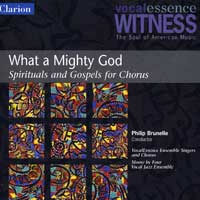 VocalEssence : What A Mighty God : 00  1 CD : Philip Brunelle : 904