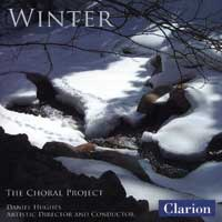 The Choral Project : Winter : 00  1 CD : Daniel Hughes : 918