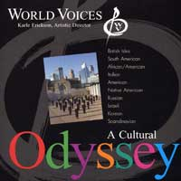 World Voices : A Cultural Odyssey : 00  1 CD : Karle Erickson :