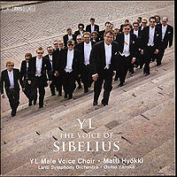 YL Male Choir : Sibelius : 00  1 CD : Jean Sibelius : 1433