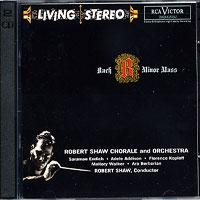 Robert Shaw Chorale : Bach: Mass in B Minor : 00  2 CDs : Robert Shaw : Johann Sebastian Bach : 09026635292-0 : 09026635292