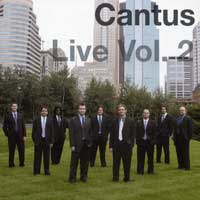 Cantus : Live Vol. 2 : 00  1 CD :