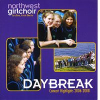 Northwest Girlchoir : Daybreak : 00  1 CD : Sara Boos :