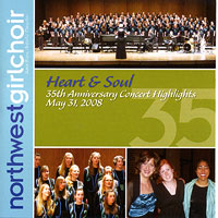 Northwest Girlchoir : Heart & Soul : 00  1 CD : Sara Boos :
