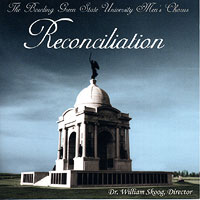 Bowling Green State University Men's Chorus : Reconciliation  : 00  1 CD : William Skoog