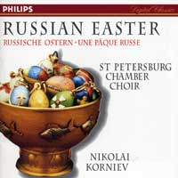 St. Petersburg Chamber Choir : Russian Easter : 00  1 CD :  : 446662-2