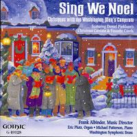 Washington Men's Camerata : Sing We Noel : 00  1 CD : Frank Albinder :  : 49128