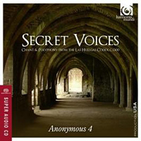 Anonymous 4 : Secret Voices : 00  1 CD : HMU 807510