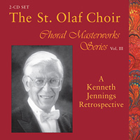 St. Olaf Choir : Choral Masterworks Vol. 3 : 00  2 CDs :  : E 3355/6