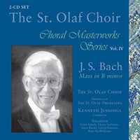 St. Olaf Choir : Choral Masterworks Vol. 4 : 00  2 CDs : Kenneth Jennings :  : E 3357/8
