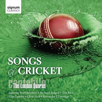 Cantabile - The London Quartet : Songs of Cricket : 00  1 CD :  : 217