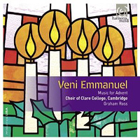 Choir of Clare College : Veni Emmanuel : 00  1 CD : Benjamin Britten : 907579