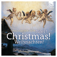 RIAS - Kammerchor : Christmas! : 00  1 CD :  : 902170