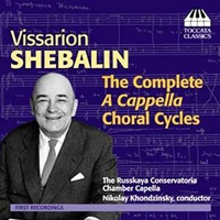 Russian Conservatory Chorus : Vissarion Shebalin - Complete A Cappella Choral Cycles : 00  1 CD : Edvard Grieg : 7033662011872