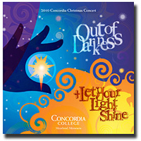 Concordia Choir : Out of Darkness : 00  1 CD :