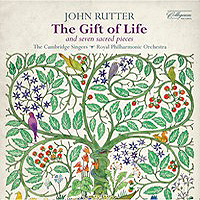 Cambridge Singers : Rutter: The Gift of Life & 7 Sacred Pieces : 00  1 CD : John Rutter : 040888013822 : COLCD138