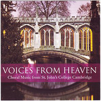St John's College Choir, Cambridge : Voices From Heaven : 00  1 CD : Christopher Robinson :  : 1341