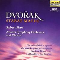 Robert Shaw Chorus : Dvorak: Stabat Mater : 00  1 CD : Robert Shaw : Antonin Dvorak : 80506