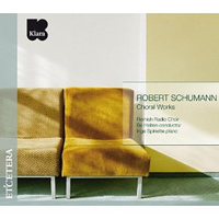 Flemish Radio Choir : Robert Schumann - Choral Works : 00  1 CD : Bo Holten : Robert Schumann : 4033