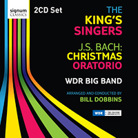 King's Singers : J.S. Bach Christmas Oratorio : 00  2 CDs : 215