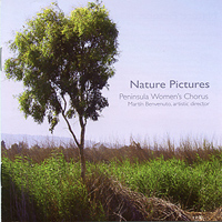 Peninsula Women's Chorus : Nature Pictures : 00  1 CD : Veljo Tormis