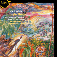 Polyphony : Jungle Book & other choral works : 00  1 CD : Stephen Layton : Percy Grainger : 55433