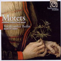 Vocalconsort Berlin : Motets : 00  1 CD : Marcus Creed : Johann Sebastian Bach : HMC 902079