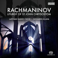 Latvian Radio Choir : Rachmaninov: Divine Liturgy of St. John Chrysostom : 00  1 CD : Sergey Rachmaninov : 761195115152 : ODE1151-5