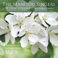 Manitou Singers of St. Olaf College : Repertoire For Women's Voices Vol 7 : 00  1 CD :  : E3293