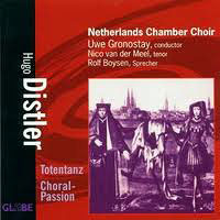 Netherlands Chamber Choir : Hugo Distler : 00  1 CD : Uwe Gronostay : Hugo Distler : 8711525517509 : 5175