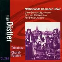 Netherlands Chamber Choir : Hugo Distler : 00  1 CD : Uwe Gronostay : Hugo Distler : 8711525517509 : 5175