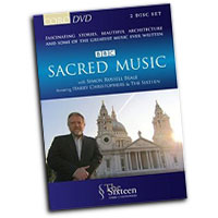 Sixteen : Sacred Music : DVD : Harry Christophers :  : 16078