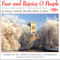St John's College Choir, Cambridge : Fear and Rejoice, O People : 00  1 CD : Christopher Robinson :  : NIM 5589