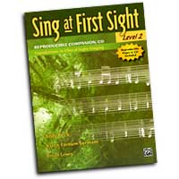Andy Beck, Karen Farnum Surmani, and Brian Lewis : Sing at First Sight, Level 2 : 01 Songbook & 1 CD :  : 038081340333  : 00-31264