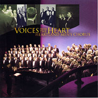 Heartland Men's Chorus : Voices From The Heart : 00  1 CD : Joseph P. Nadeau