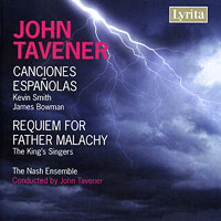 King's Singers : Tavener - Requiem for Father Malachy / Canciones Espanolas : 00  1 CD : LYR 311