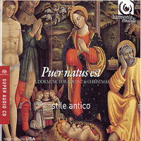 Stile Antico : Puer Natus Est - Tudor Music for Advent and Christmas : 00 SACD :  : hmu 807517