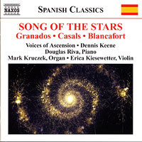 Voices of Ascension : Song of the Stars : 00  1 CD : Dennis Keene :  : 8.570533